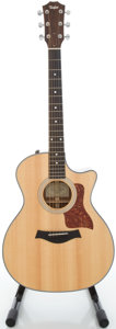 Musical Instruments:Acoustic Guitars, 2008 Taylor 314CE Natural Acoustic Electric Guitar, Serial#20080226017....