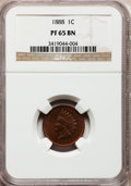 Proof Indian Cents: , 1888 1C PR65 Brown NGC. NGC Census: (80/32). PCGS Population(32/9). Mintage: 4,582. Numismedia Wsl. Price for problem free...