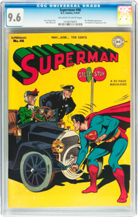 Superman #46 (DC, 1947) CGC NM+ 9.6 Off-white to white pages