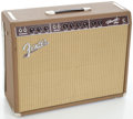 Musical Instruments:Amplifiers, PA, & Effects, Fender Vibroverb Reissue Brown Guitar Amplifier, Serial#AB00959....
