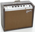 Musical Instruments:Amplifiers, PA, & Effects, Circa 1964 Gibson Falcon Brown Guitar Amplifier, Serial #774086....