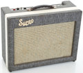 Musical Instruments:Amplifiers, PA, & Effects, 1961 Supro Guitar Amplifier, Serial #T58597....