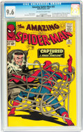 Silver Age (1956-1969):Superhero, The Amazing Spider-Man #25 (Marvel, 1965) CGC NM+ 9.6 Off-white to white pages....