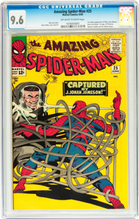 The Amazing Spider-Man #25 (Marvel, 1965) CGC NM+ 9.6 Off-white to white pages