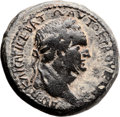 Ancients:Judaea, Ancients: Agrippa II (49/50 - 94/95 AD). Mint of Caesarea Paneas.AE (27mm, 17.12 gm, 12h). ...