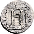 Ancients:Judaea, Ancients: Bar Kokhba Revolt (132 - 135 AD). AR sela (26mm, 13.17gm, 1h)....