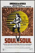 "Movie Posters:Rock and Roll, Soul to Soul (Cinerama Releasing, 1971). One Sheet (27"" X 41""). Rock and Roll.. ..."