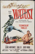 """Movie Posters:Adventure, Watusi and Other Lot (MGM, 1959). One Sheets (2) (27"""" X 41"""").Adventure.. ... (Total: 2 Items)"""