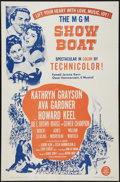 "Movie Posters:Musical, Show Boat (MGM, R-1963). One Sheet (27"" X 41""). Musical.. ..."