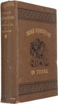 Books:Americana & American History, John Wesley Wilbarger. Indian Depredations in Texas....