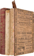 Books:Reference & Bibliography, Three Directories of the City of Dallas including:... (Total: 3Items)