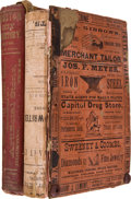 Books:Reference & Bibliography, Two Directories of the City of Houston including:... (Total:2 Items)
