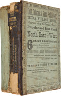Books:Reference & Bibliography, Two Directories of the City of Galveston including:...(Total: 2 Items)