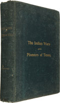 Books:Americana & American History, John Henry Brown. Indian Wars and Pioneers of Texas....