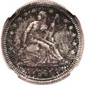 Proof Seated Quarters: , 1891 25C PR63 NGC. NGC Census: (25/121). PCGS Population (44/93).Mintage: 600. Numismedia Wsl. Price for problem free NGC/...