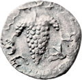 Ancients:Judaea, Ancients: Bar Kokhba Revolt (132 - 135 AD). AR zuz (18mm, 2.12 gm,6h). ...