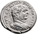 Ancients:Judaea, Ancients: Neapolis, Samaria. Caracalla (198 - 217 AD). ARtetradrachm (28mm, 12.64 gm, 6h). ...