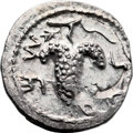 Ancients:Judaea, Ancients: Bar Kokhba Revolt (132 - 135 AD). AR zuz (17mm, 3.16 gm,6h)....