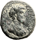 Ancients:Judaea, Ancients: Nysa Scythopolis, Decapolis. Lucius Verus (161 - 169 AD).AE (30mm, 20.25 gm, 11h). ...