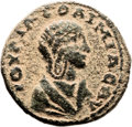 Ancients:Judaea, Ancients: Caesarea Paneas, Galilee. Julia Soaemias, motherElagabalus (218 - 222 AD). AE (28mm, 16.12 gm, 12h). ...