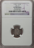 Early Half Dimes: , 1795 H10C -- Plugged -- NGC Details. VF. LM-10. NGC Census:(7/306). PCGS Population (30/403). Mintage: 78,600. Numismedia...