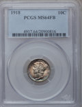 Mercury Dimes: , 1918 10C MS64 Full Bands PCGS. PCGS Population (164/135). NGCCensus: (103/72). Mintage: 26,680,000. Numismedia Wsl. Price ...