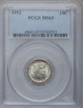 Barber Dimes: , 1912 10C MS65 PCGS. PCGS Population (143/46). NGC Census: (148/40).Mintage: 19,350,000. Numismedia Wsl. Price for problem ...