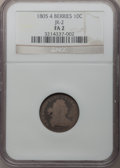 Early Dimes: , 1805 10C 4 Berries Fair 2 NGC. JR-2. NGC Census: (5/250). PCGSPopulation (15/365). Mintage: 120,780. Numismedia Wsl. Pric...