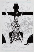 Original Comic Art:Splash Pages, Leinil Francis Yu The X-Men #106 Splash Page 1 Original Art(Marvel, 2000)....