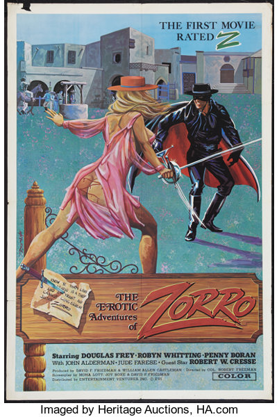 The Erotic Adventures of Zorro (Entertainment Ventures, Inc