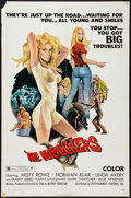 """Movie Posters:Bad Girl, The Hitchhikers (EVI, 1972). One Sheet (27"""" X 41""""). Bad Girl.. ..."""