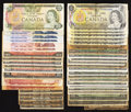 Canadian Currency: , Canadian Group Lot - Shinplasters and More.. ... (Total: 41 notes)