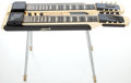 Musical Instruments:Lap Steel Guitars, Circa 1958 National Double Neck Table Lap Steel Guitar, Serial #T 4061.... (Total: 5 Items)