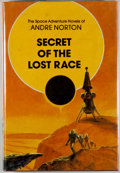 Books:Science Fiction & Fantasy, [Jerry Weist]. Andre Norton. SIGNED. Secret of the Lost Race[and:] The Crossroads of Time. Boston: ... (Total: 2 Items)