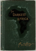 Books:Biography & Memoir, Henry M. Stanley. In Darkest Africa. New York: CharlesScribner's Sons, 1890. First edition. Two octavo volumes....(Total: 2 Items)