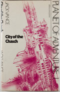 Books:Science Fiction & Fantasy, [Jerry Weist]. Jack Vance. SIGNED. Planet of Adventure Series: City of Chasch [and:] Servants of Wankh... (Total: 4 Items)