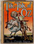 Books:Children's Books, [Color Plates]. L. Frank Baum. Tik-Tok of Oz. Chicago: TheReilly & Lee Co., 1914. Octavo. 272 pages. Publisher'...