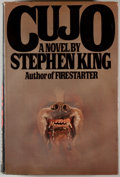 Books:Horror & Supernatural, Stephen King. Cujo. New York: Viking, [1981]. First edition,first printing. Octavo. 319 pages. Publisher's bind...