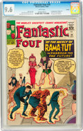 Silver Age (1956-1969):Superhero, Fantastic Four #19 Curator pedigree (Marvel, 1963) CGC NM+ 9.6White pages....