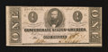 Confederate Notes:1863 Issues, T62 $1 1863.. ...