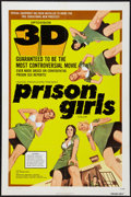 """Movie Posters:Bad Girl, Prison Girls (United Producers, 1972). One Sheet (27"""" X 41"""") 3-DStyle. Bad Girl.. ..."""