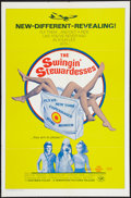"""Movie Posters:Sexploitation, The Swingin' Stewardesses & Other Lot (Hemisphere Pictures,1972). One Sheets (2) (27"""" X 41""""). Sexploitation.. ... (Total: 2Item)"""