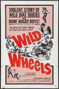 "Movie Posters:Exploitation, Wild Wheels & Other Lot (Fanfare, 1969). One Sheets (2) (27"" X41""). Exploitation.. ... (Total: 2 Items)"