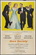 "High Society (MGM, 1956). One Sheet (27"" X 41""). Musical"