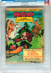 Classics Illustrated Giants: An Illustrated Library of Great Indian Stories (Gilberton, 1949) CGC FN 6.0 Cream to off-wh...