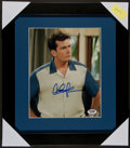 Miscellaneous Collectibles:General, Charlie Sheen Signed Photograph. ...