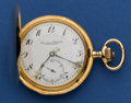 "Timepieces:Pocket (post 1900), International Watch Co. ""Schaffhausen"" 14k Gold 17 Jewel HuntersCase Pocket Watch. ..."