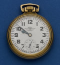 Timepieces:Pocket (post 1900), Ball 21 Jewel 16 Size 999 B Pocket Watch. ...