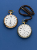 Timepieces:Pocket (post 1900), Two Hamilton 21 Jewel 992 Pocket Watches Runners. ... (Total: 2Items)