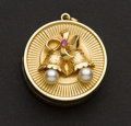 Estate Jewelry:Other , Charming Gold Music Box Charm. ...